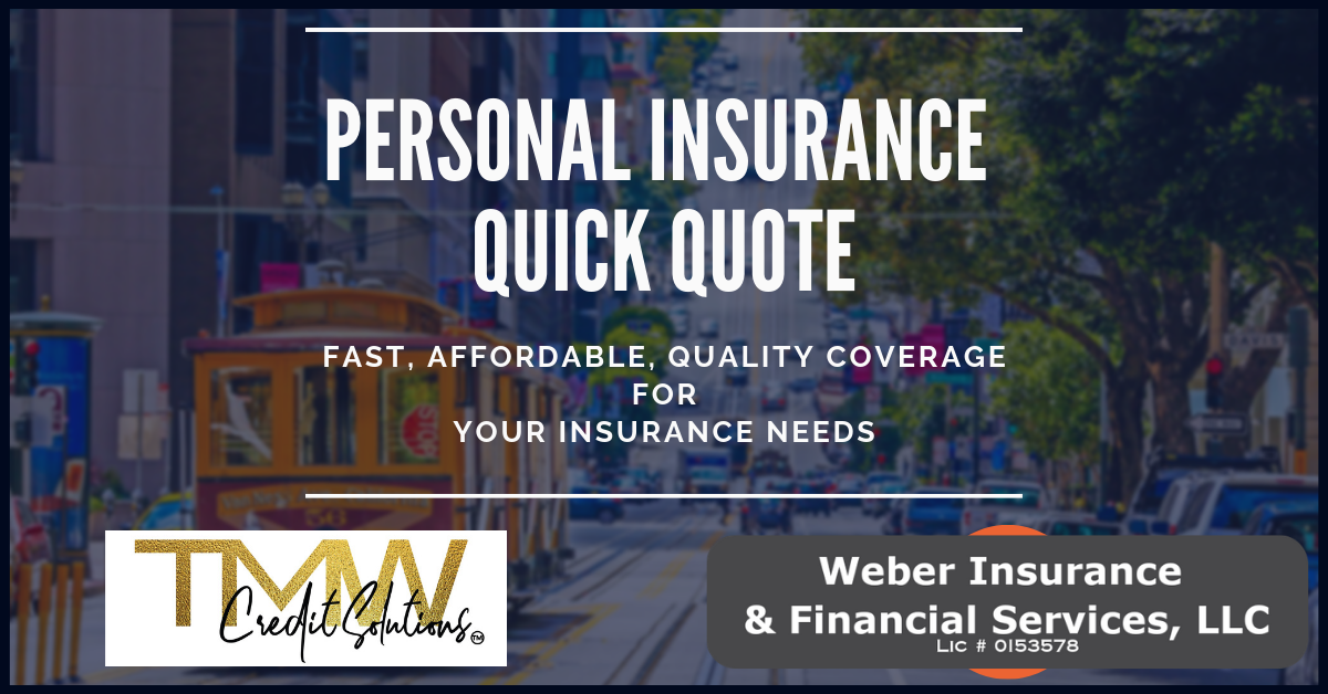 TMW Personal Insurance Quote Form