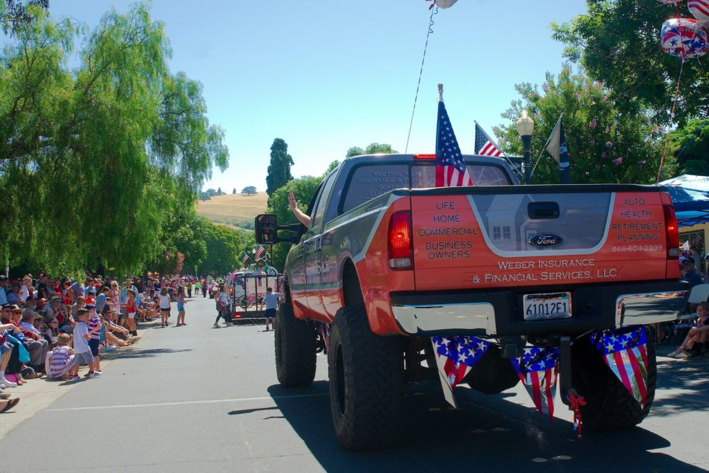 Clayton, CA Home Insurance 4th of July Parade